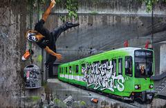 Fassadenkunst - Urban Jungle