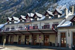 Am Bahhof in Chamonix-Mont-Blanc