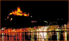 View on Cochem with castle