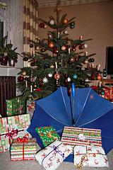 """Weihnachten mit dem """"Blauen Schirm"""""""