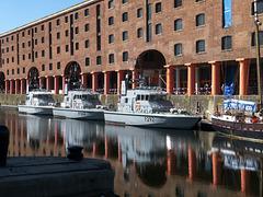 Warships, Albert Dock, Liverpool