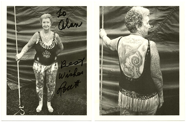 Lorett Fulkerson, the Last Performing Tattooed Lady