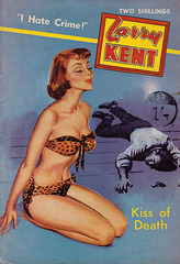 Larry Kent - Kiss of Death