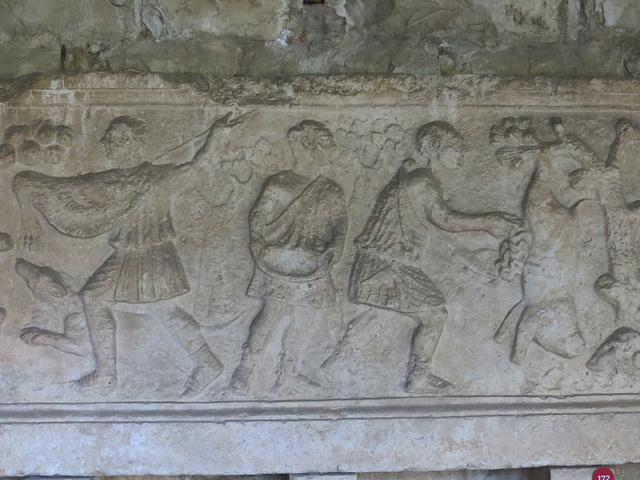 Musée archéologique de Split : apprentis bouchers ?