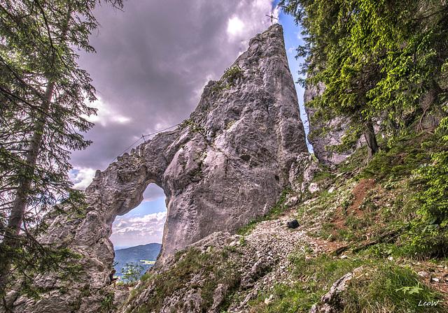 Fischbachau ++ Breitensteiner Fensterl (1380 m)