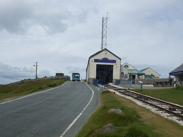 DSCF9860 Summit Station on the Great Orme Tramway