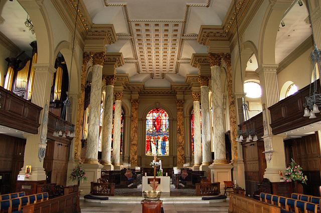 Interior of St Philip's Cathedral, Birmingham