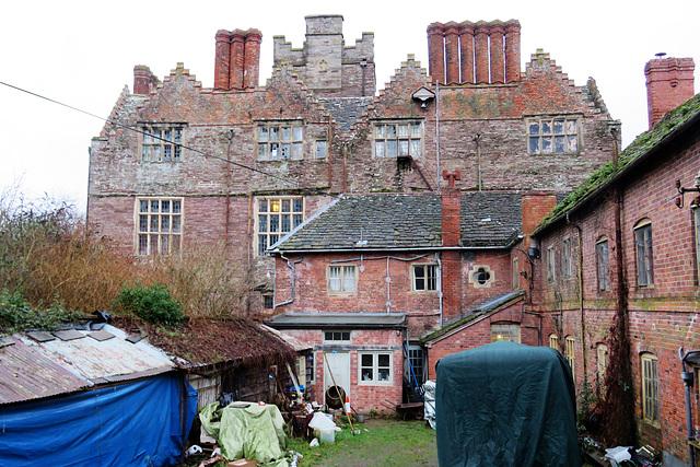 kinnersley castle, herefs.