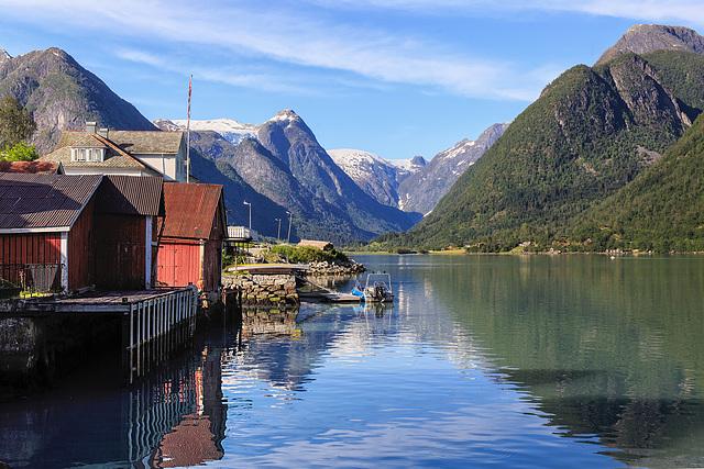 Am Fjærlands- Fjord