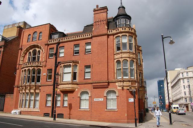 Late Victorian Block in Cornwall Street, Birmingham