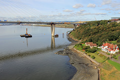 North Approach of the new Queensferry Bridge