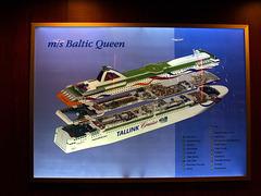 """Tallink Ferry """"Baltic Queen"""""""