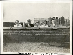 Rooftop Fun, 1917