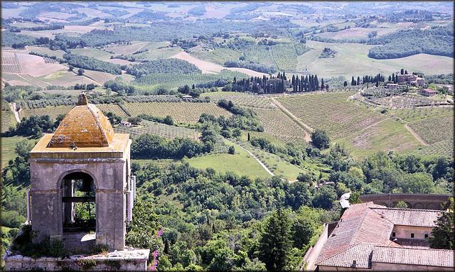 San Gimignano (I, Toscane) 17 mai 2011.