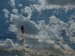 quand le ciel et la mer se confondent,
