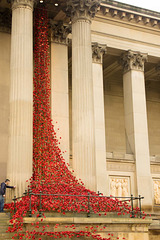 Weeping windows. St Georges Hall, Liverpool
