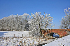 Winter at Papermill Lock ~ Lincolnshire