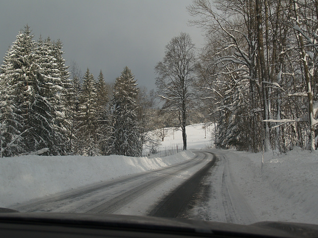 Bayern Winter Road
