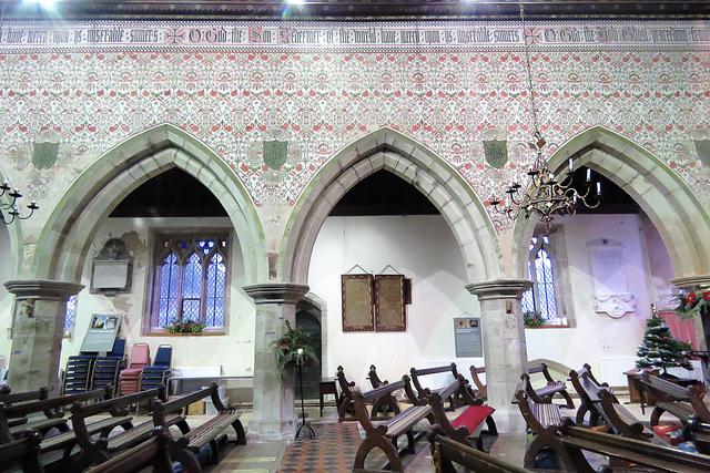 kinnersley church, herefs.