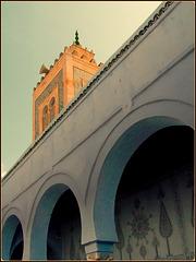 Kairouan : uno scorcio della moskea del barbiere