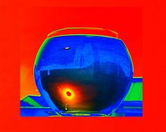 Sonne im Wasserglas