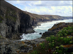 Wheal Coates tin mine from Tubby's Head, Cornwall. PLEASE STAY, DON'T RUN AWAY!!!