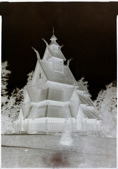 Gol Stave Church Calotype