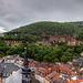Heidelberg im Regen / on a raiy day (090°)