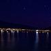 Across the lake: night
