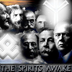 The Spirits Awake - Logo - Books of Foundation - Peter Crawford