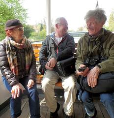 """Trio auf dem Alster""""dampfer"""""""