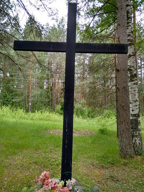 Кладбище германских военнопленных. Вторая Мировая война.