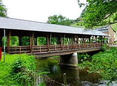 DE - Laach - Holzbrücke