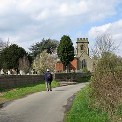 Church of St. Nicholas at Mavesyn Ridware (Grade I Listed Building)
