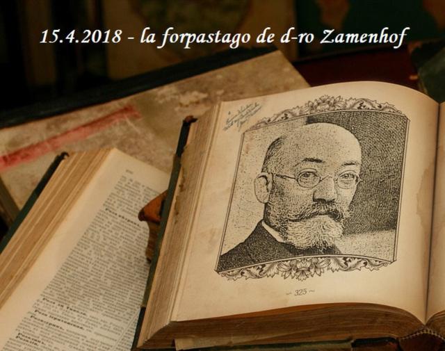 15.4. - la forpastago de d-ro Zamenhof