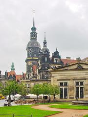 Dresden, am Theaterplatz
