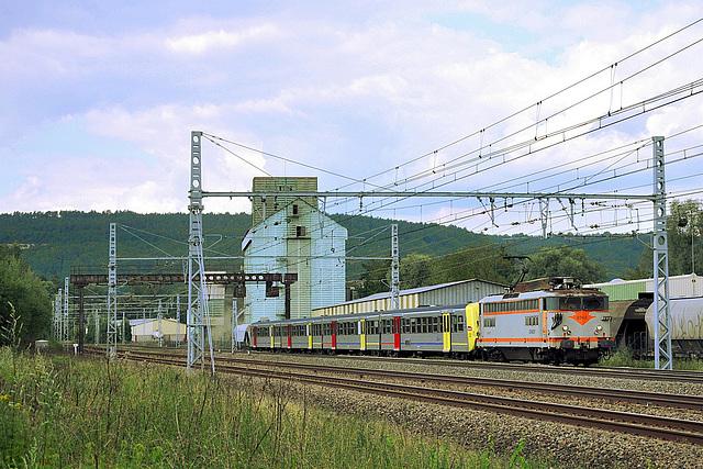 BB 8500 sur la PLM Nord