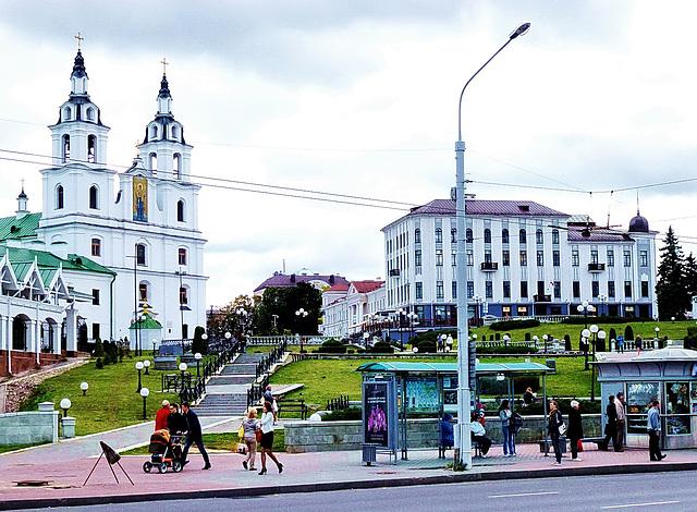 Heilig-Geist-Kathedrale in Minsk