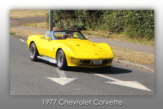 1977 Chevrolet Corvette - Denton Corner - 11.7.2015