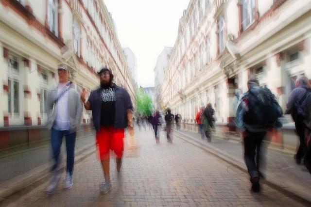 Unterwegs im Karo-Viertel. Beckstraße