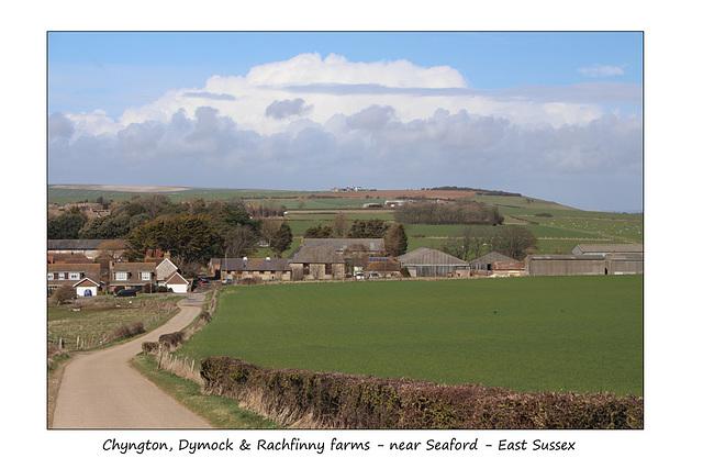 Chyngton, Dymock & Rachfinny farms - near Seaford - Sussex - 28.3.2016