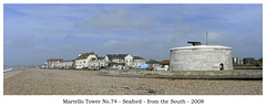 Martello 74 from south Seaford 1 4 2008