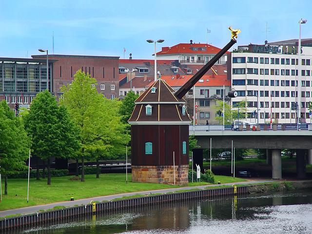 Saarbrücken, alter Hafenkran
