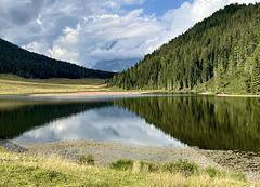 i colori del lago di Calaita