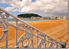 """Playa de la Concha""- Donostia - Euskal Herria"