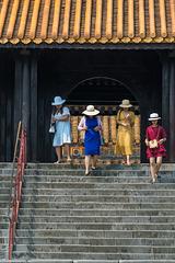 in der Tempel- und Grab-Anlage von Kaiser Tu Duc in Hue (© Buelipix)