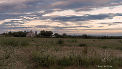 Fence at Twilight, HFF