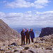 Jim, Neil and Alan at The Bealach Na Ba (Pass of The Cattle)Applecross 15th May 1996.