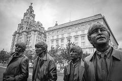 Paul.. George.. Ringo and John...  Liverpool.