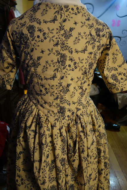 Back of Dress